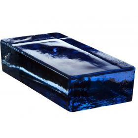 Стеклянный кирпич Vetropieno Blu