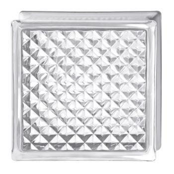 Стеклоблок Испания осветленное стекло Opti White инка
