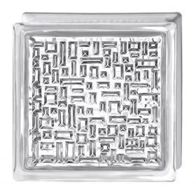 Стеклоблок Испания Opti White мозайка