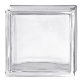Стеклоблок Испания осветленное стекло Opti White гладкий